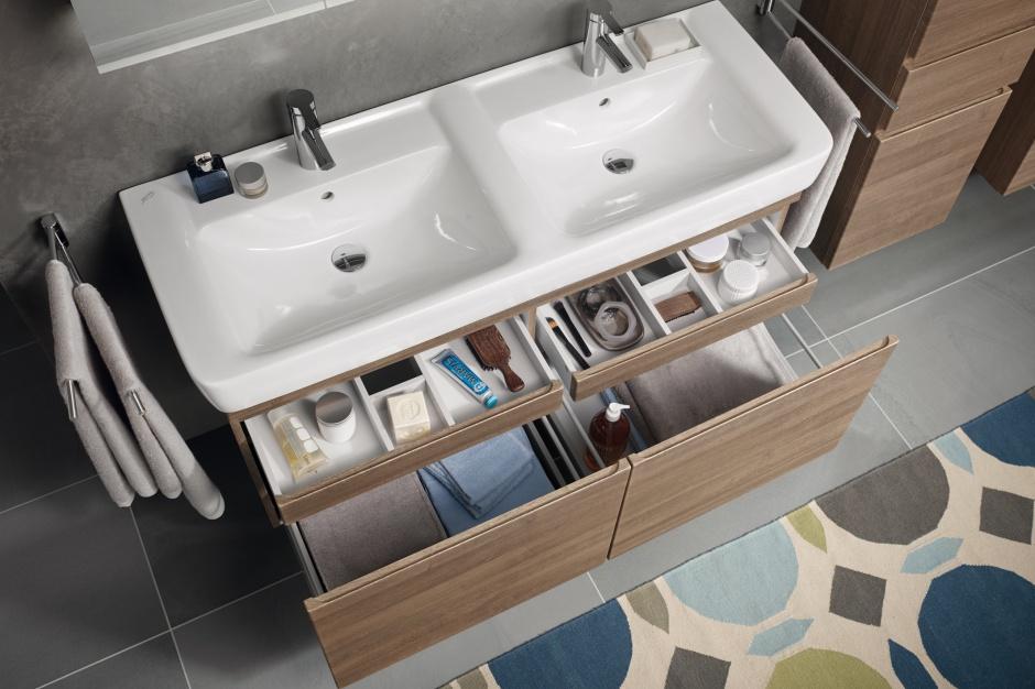Przechowywanie w łazience: praktyczne szafki i szuflady