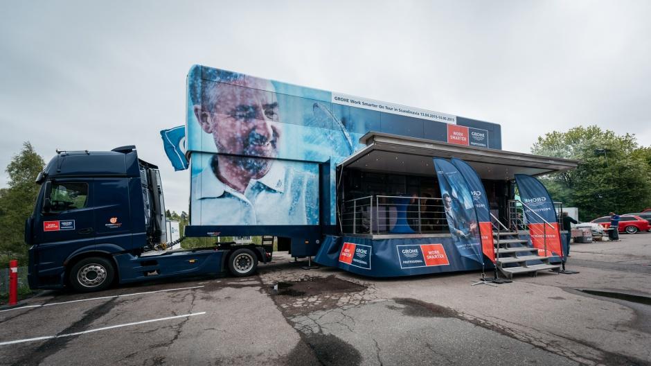 Ciężarówka Grohe odwiedzi w tym roku dziesięć miast w Polsce