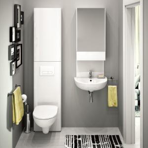 Białe meble do łazienki – 12 modnych kolekcji