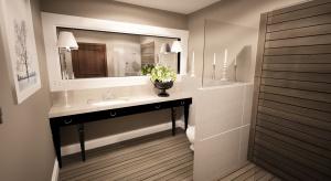 Łazienka z marmurami - jeden hotel, sześć pomysłów na wnętrze