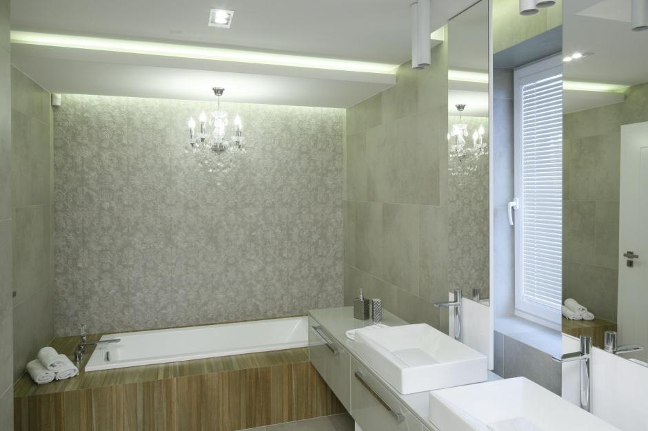 Łazienka w szarościach – najpiękniejsze polskie projekty