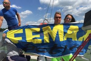Branża na Mazurach - Femax zabrał swoich klientów pod żagle