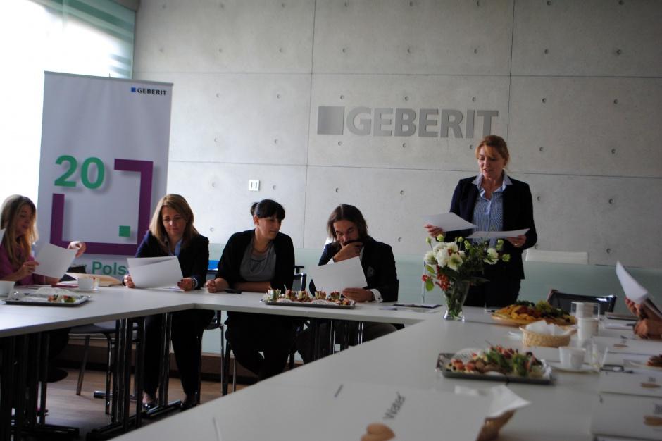 Konferencja Geberit: toalety myjące wyposażeniem polskich łazienek