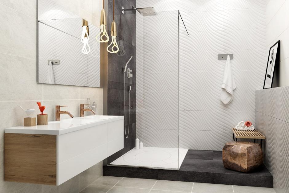 Białe płytki do łazienki – same nowości