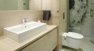 Bardzo małe łazienki – prysznic zamiast wanny
