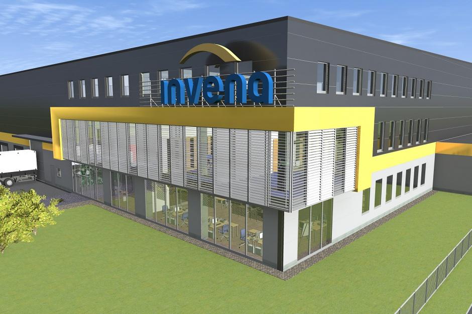 Invena rozpoczyna budowę Centrum Logistycznego