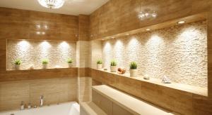 """Oświetlenie łazienki –€"""" pomysły z polskich domów"""