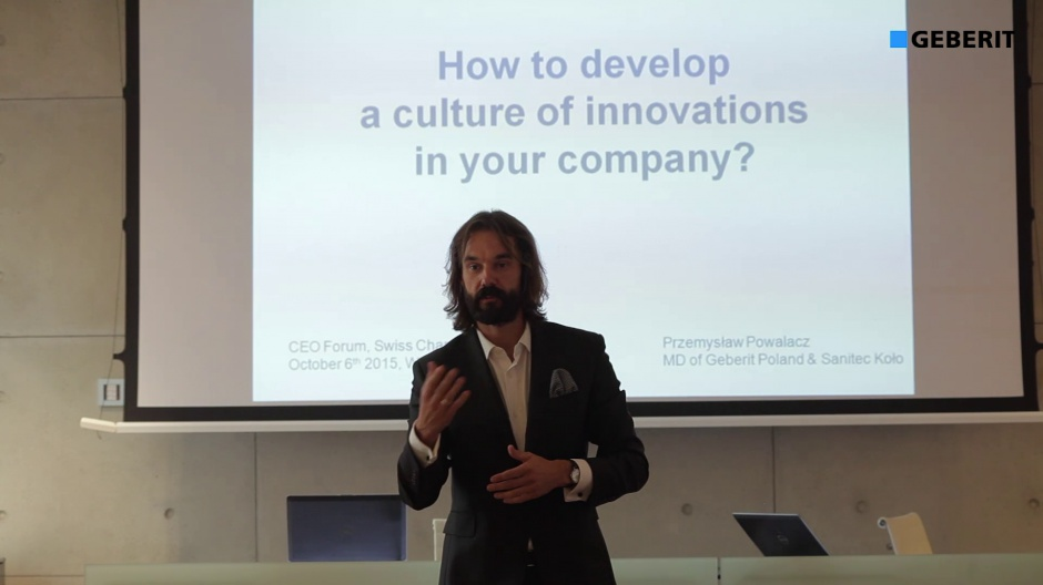 Tak to robią w Szwajcarii - Geberit zaprosił do rozmowy o innowacjach w firmie [wideo]