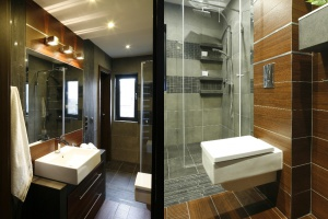 Urządzaj z projektantem: małe łazienki