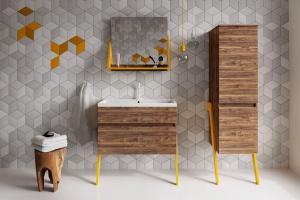 Szafka w parze z lustrem - pomysły na łazienkę