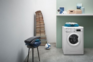 5 pomysłów na pralkę w łazience