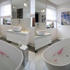 10 modnych łazienek w bieli. Skorzystaj z gotowych pomysłów!