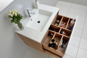 Przechowywanie w łazience: 5 praktycznych pomysłów