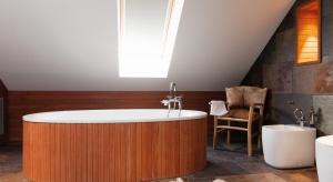 W objęciach natury - salon kąpielowy w stylu SPA
