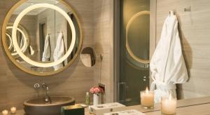 330 łazienek we włoskim stylu w mediolańskim hotelu