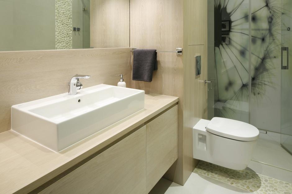 Radzimy - Nowoczesna łazienka z prysznicem. 10 projektów architektów  Łazienka.pl