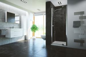 Drzwi do wnęki prysznicowej – zobacz nowe modele