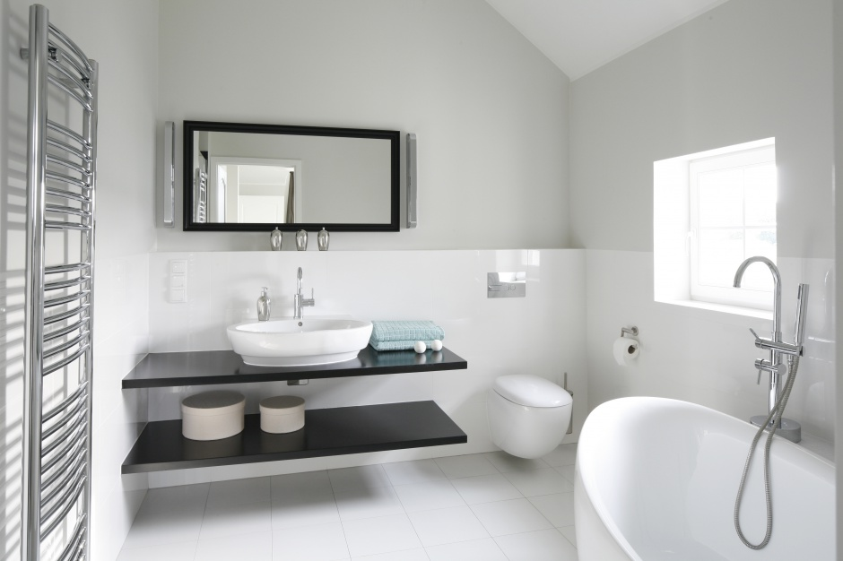 Radzimy Białe łazienki 12 Najpiękniejszych Wnętrz