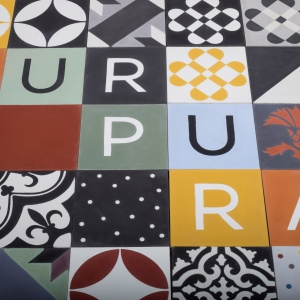 Kolekcja kafli Abecedarium, Purpura
