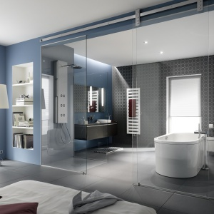 Najlepsze pomysły na sypialnię z łazienką