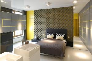 Przestrzeń relaksu w stylu industrialnym - zobacz warszawskie mieszkanie