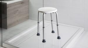 Poręcze, siedziska, taborety - zobacz przydatne rozwiązania do łazienek dostępnych