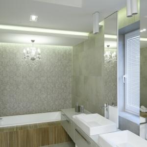 Ledy w łazience – 10 projektów  z polskich domów