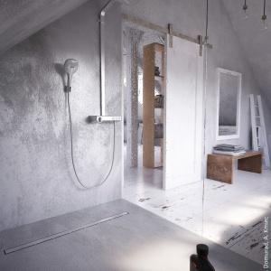 Odpływy liniowe do łazienki remontowanej i nowej