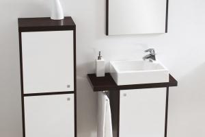 Bardzo mała łazienka – modne sposoby na urządzanie