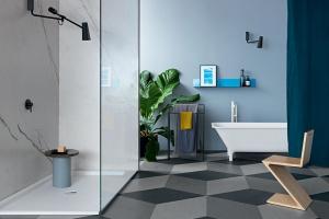5 pomysłów na łazienkę w czerni