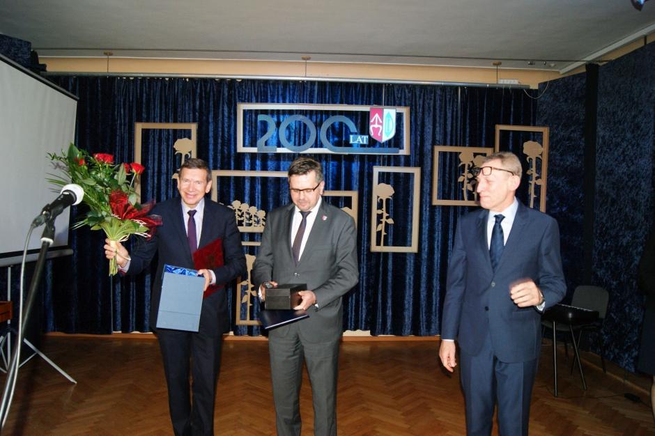 Właściciel Grupy Tubądzin Honorowym Obywatelem Ozorkowa