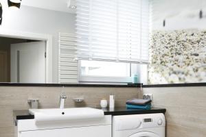 Łazienka z pralką – gotowy projekt dla rodziny