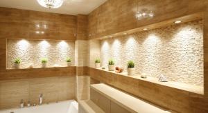 Łazienka w beżach i brązach – zawsze modne wnętrza