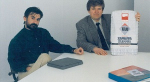 Atlas i jego pierwsza betoniarka - firma świętuje 25-lecie