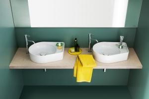 Umywalki z kolekcji VAL