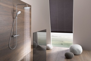 KLUDI FRESHLINE DUAL SHOWER SYSTEM