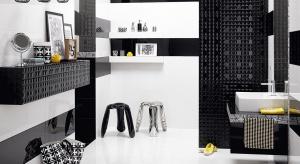 Czarno-białe płytki: 10 kolekcji do nowoczesnej łazienki