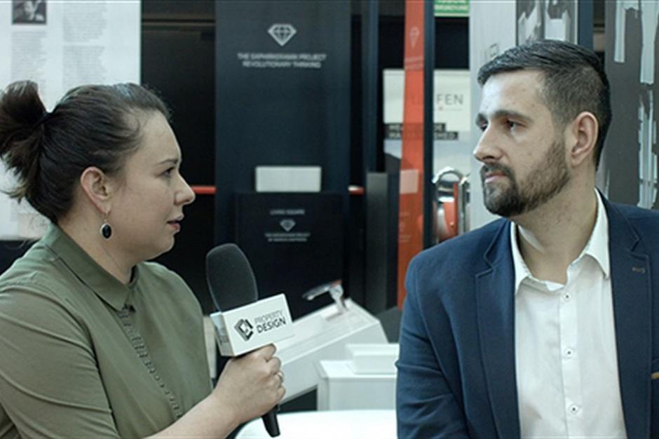 Michał Dudkowski, Roca: Stawiamy na dobry design [wideo]