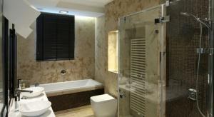 5 pomysłów na łazienkę w kamieniu
