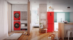 Nowość na rynku AGD: kolorowe pralki i suszarki