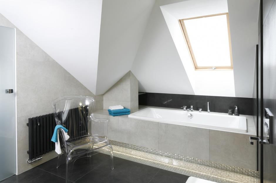 Łazienka w szarościach – pakiet projektów