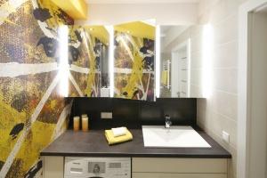 Łazienka z pralką – gotowy projekt na mały metraż