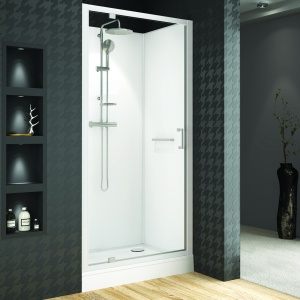 Prysznic we wnęce – 12 nowoczesnych modeli drzwi