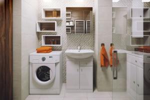 Mała łazienka z pralką: tak ją urządzisz