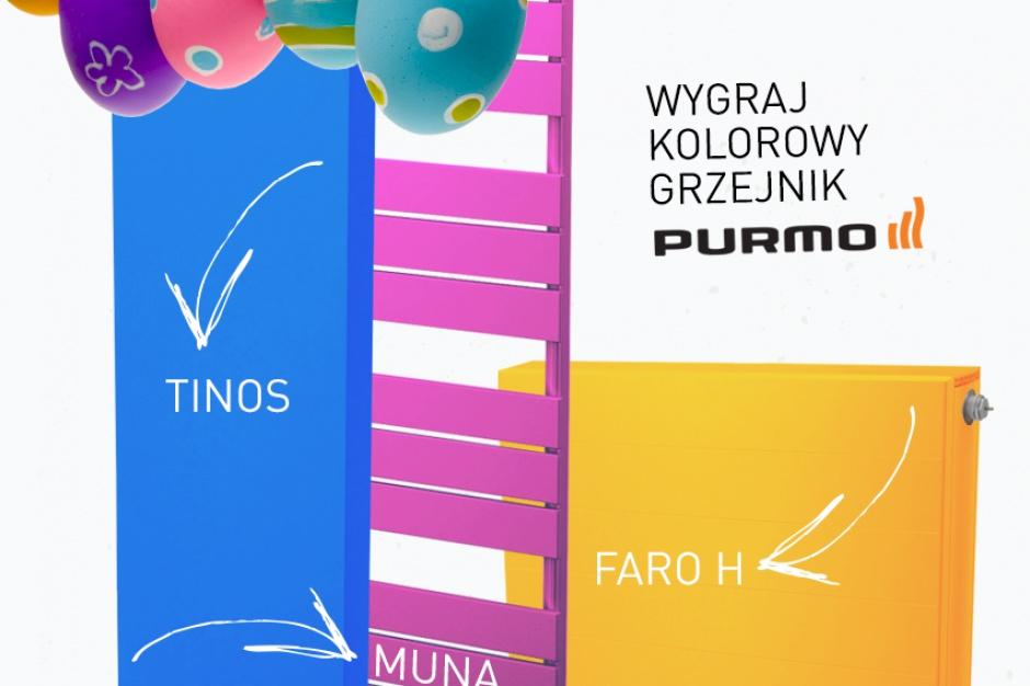 Purmo organizuje konkurs, w którym można wygrać grzejniki