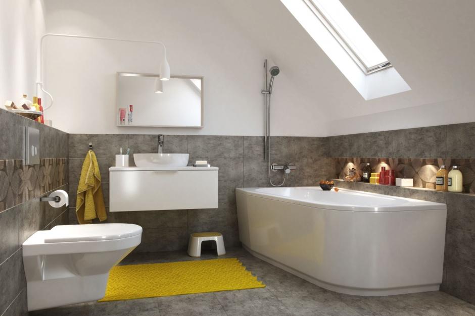 Łazienka na poddaszu – tak praktycznie ją urządzisz