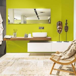 Łazienka w kolorach wiosny