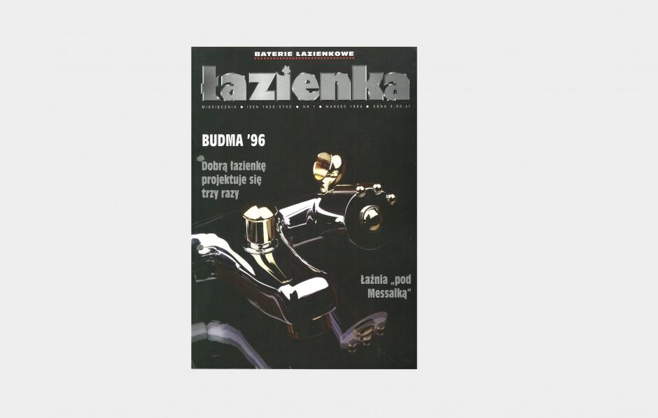 Łazienka 1996 (nr 1) - czytaj pierwsze wydanie naszego magazynu! (ebook)