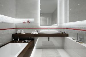 Jasna łazienka – propozycje płytek ceramicznych