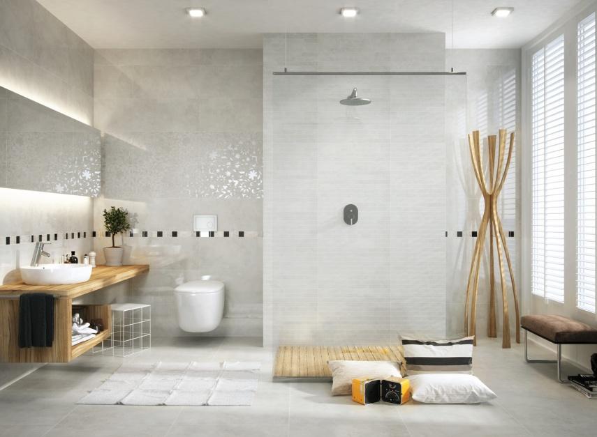 Aranżujemy Jasna łazienka Propozycje Płytek Ceramicznych